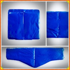Vinyl Cold Packs, Blue (Partitioned)